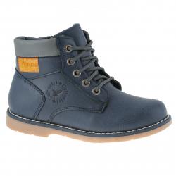 Dětská zimní obuv střední WOJTYLKO-Corte blue