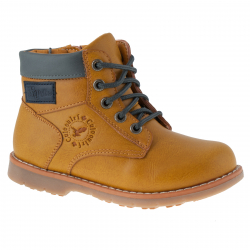Detská zimná obuv stredná WOJTYLKO-Corte brown