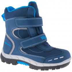 Dětská zimní obuv střední WOJTYLKO-Meara blue
