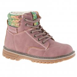 Dětská zimní obuv střední WOJTYLKO-Capton pink