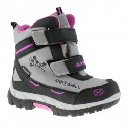 Dětská zimní obuv střední AXIM-Halse grey