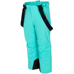 Dívčí lyžařské kalhoty 4F-GIRLS-SKI TROUSERS-HJZ19-JSPDN001-47S-MINT