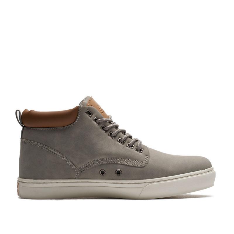 Pánská vycházková obuv BK BRITISH KNIGHTS-Wood grey 45 Šedá
