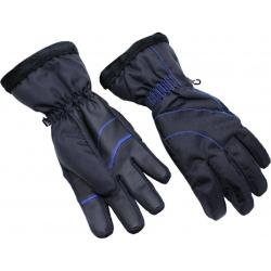 Dámske lyžiarske rukavice BLIZZARD-Viva Harmonica ski gloves, black/blue
