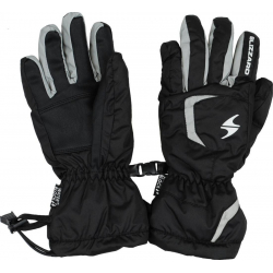 Juniorské lyžařské rukavice BLIZZARD-Rider junior ski gloves, black / silver