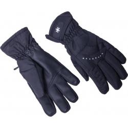 Dámske lyžiarske rukavice BLIZZARD-Viva Davos ski gloves, black