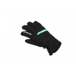 Dámské lyžařské rukavice BLIZZARD-Viva Plose ski gloves, black / white / turquoise