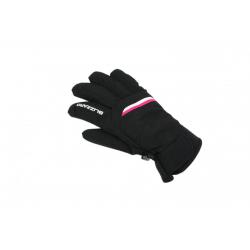 Dámské lyžařské rukavice BLIZZARD-Viva Plose ski gloves, black / white / pink