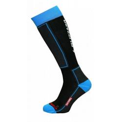 Lyžařské podkolenky (ponožky) BLIZZARD-Skiing ski socks junior, black / blue
