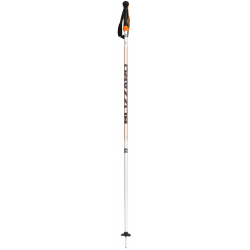 Lyžařské hole BLIZZARD-Allmountain ski poles, silver / neon orange