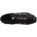 Pánska trailová obuv SALOMON-SPEEDCROSS 4 GTX Black/Black/SI -