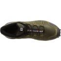 Pánska trailová obuv SALOMON-SPEEDCROSS 4 WIDE Grape Leaf/Burnt -