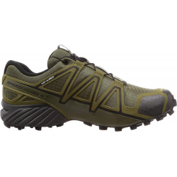 Pánska trailová obuv SALOMON-SPEEDCROSS 4 WIDE Grape Leaf/Burnt