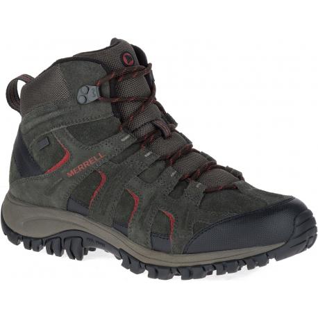 Pánska turistická obuv stredná MERRELL-PHOENIX 2 MID THERMO WTPF beluga