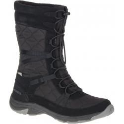 Dámska vychádzková obuv MERRELL-Approach Tall Waterproof black