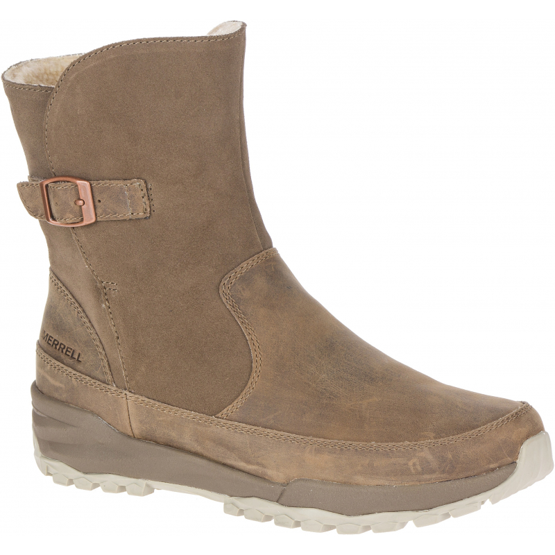 Dámska vychádzková obuv MERRELL-Icepack Guide Buckle Plr Wp stone -
