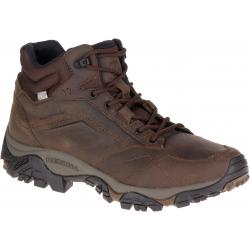 Pánská vycházková obuv MERRELL-Moab Adventure Mid Waterproof dark earth