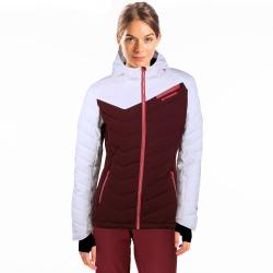 Dámska lyžiarska bunda FUNDANGO-PUMILA-398-aubergine