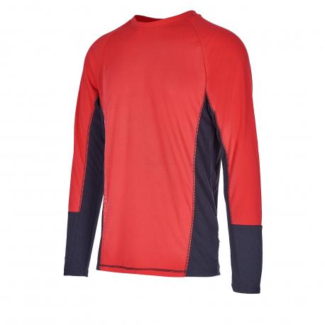 Pánske termo tričko s dlhým rukávom AUTHORITY-THALYNO red