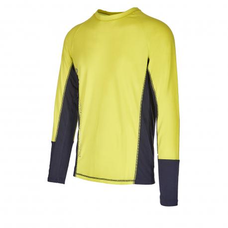 Pánské termo tričko s dlouhým rukávem AUTHORITY-THALYNO neon
