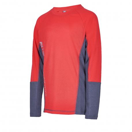 Detské termo tričko s dlhým rukávom AUTHORITY KIDS-THALKO B red