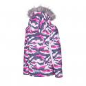 Dievčenská lyžiarska bunda AUTHORITY-KIDDO G pink -