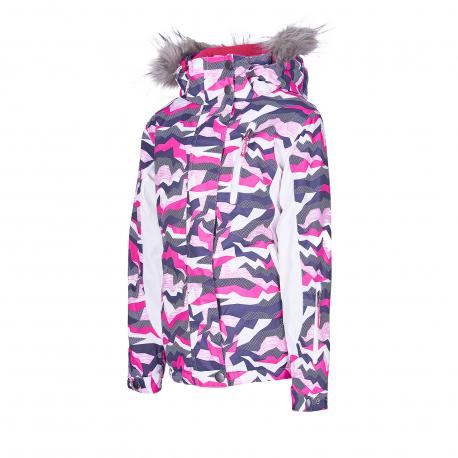 Dievčenská lyžiarska bunda AUTHORITY KIDS-KIDDO G pink