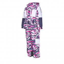 Detský zimný overal AUTHORITY KIDS-OWKA19 pink