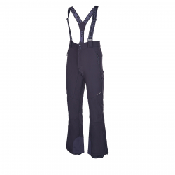 Pánske lyžiarske softshellové nohavice AUTHORITY-NUSSO black
