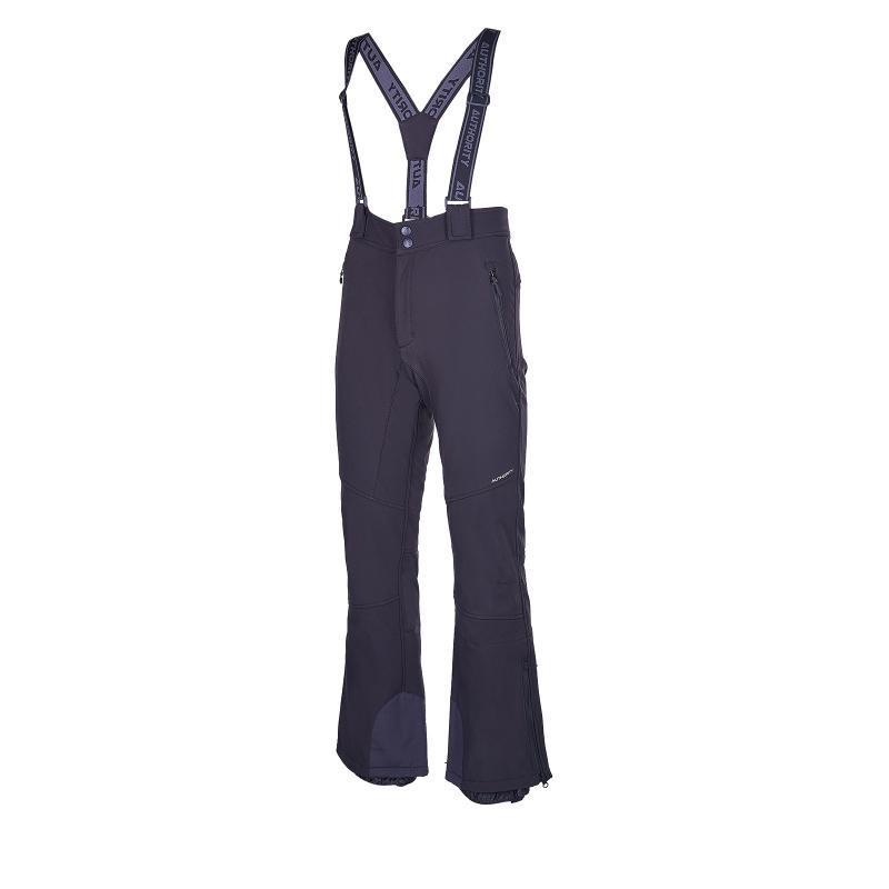 Pánské lyžařské softshellové kalhoty AUTHORITY-Nüsse black -