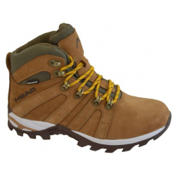 Pánská turistická obuv vysoká HEAD Rila camel / lt.brown