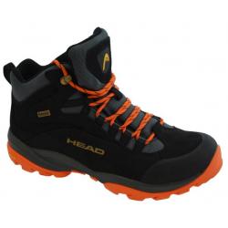 Pánská turistická obuv vysoká HEAD Kenya black / orange