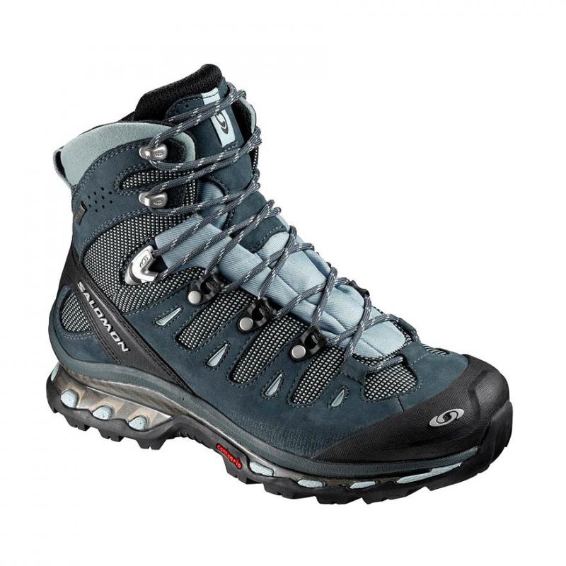 8ce7d889b850a Dámska turistická obuv vysoká SALOMON-QUEST 4D gtx W Deep Blue/CERU/GY