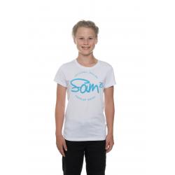 Dívčí tričko s krátkým rukávem SAM73-Girls T-shirt short sleeves-GT 529-000-white