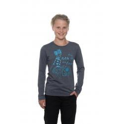 Dívčí triko s dlouhým rukávem SAM73-Girls T-shirt long sleeves-GT 531-240-dark blue