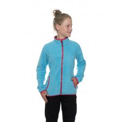Dívčí mikina se zipem SAM73-Girls Sweatshirt-GM 514-219-neon blue