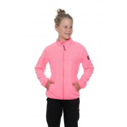 Dívčí mikina se zipem SAM73-Girls Sweatshirt-GM 514-118-neon pink