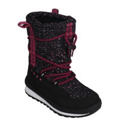 Dievčenská zimná obuv vysoká COLOR KIDS-Sacha boots-4192-Malaga Rose