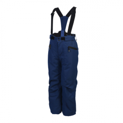 Detské lyžiarske nohavice COLOR KIDS-Sanglo padded ski pants-188-Estate Blue