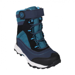 Detská zimná obuv vysoká COLOR KIDS-Salliut boots-1154-Pirate Blue