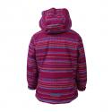 Dievčenská lyžiarska bunda COLOR KIDS-Donja padded ski jacket AOP-443-Raspberry -