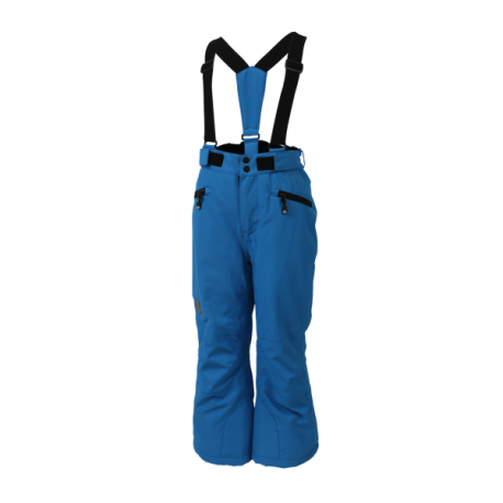 Detské lyžiarske nohavice COLOR KIDS-Sanglo padded ski pants-1101-Blue Aster