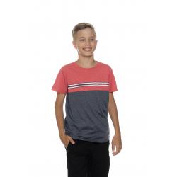 Chlapecké tričko s krátkým rukávem SAM73-Boys T-shirt short sleeves-BT 529-135-red
