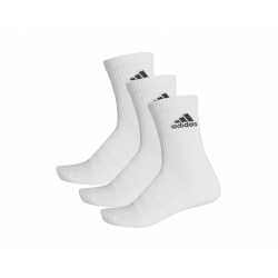 Ponožky ADIDAS-CUSH CRW 3PP WHITE/WHITE/BLACK