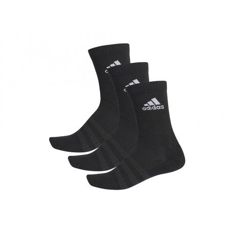 Ponožky ADIDAS-CUSH CRW 3PP BLACK/BLACK/WHITE