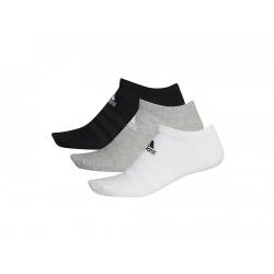 Ponožky ADIDAS-LIGHT LOW 3PP MGREYH/WHITE/BLACK
