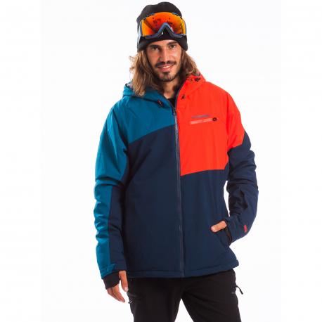 Pánska lyžiarska bunda FUNDANGO-HEMLOCK-460-turkis