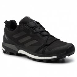 Pánska turistická obuv nízka ADIDAS-Terrex Skychaser LT GTX black/cblack/grfour