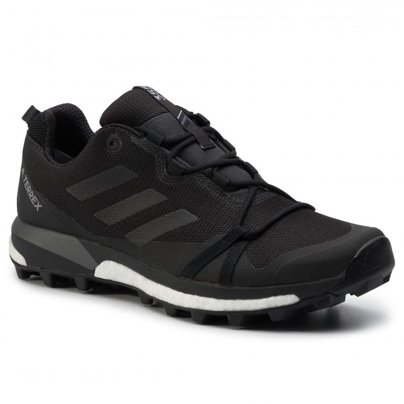 Pánska turistická obuv nízka ADIDAS-Terrex Skychaser LT GTX black/cblack/grfour -