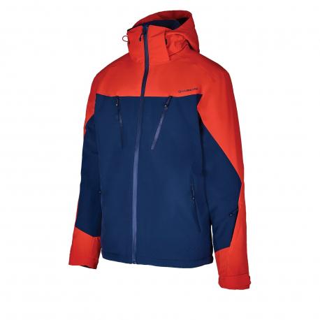 Pánska lyžiarska bunda BLIZZARD-Mens Ski Jacket Stelvio, dark blue/red